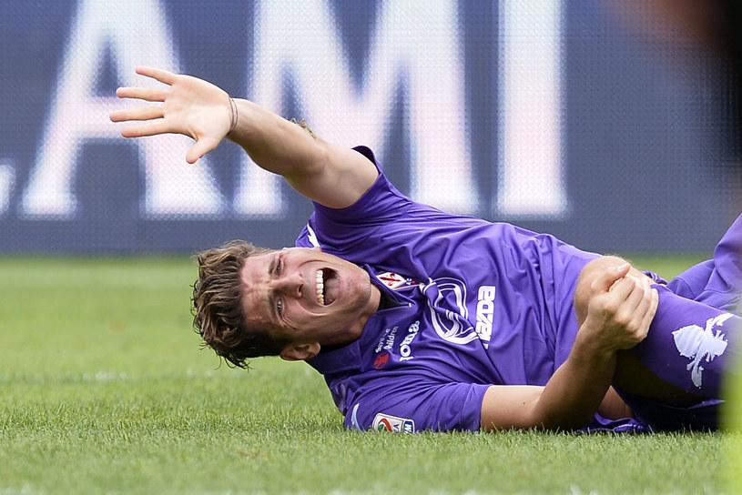 Mario Gomez doznał kontuzji w meczu z Cagliari /AFP