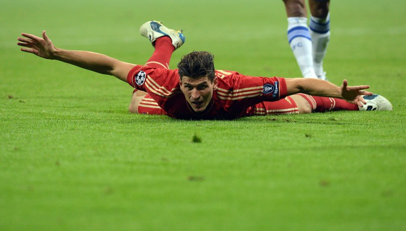 Mario Gomez, gwiazda Bayernu Monachium /AFP