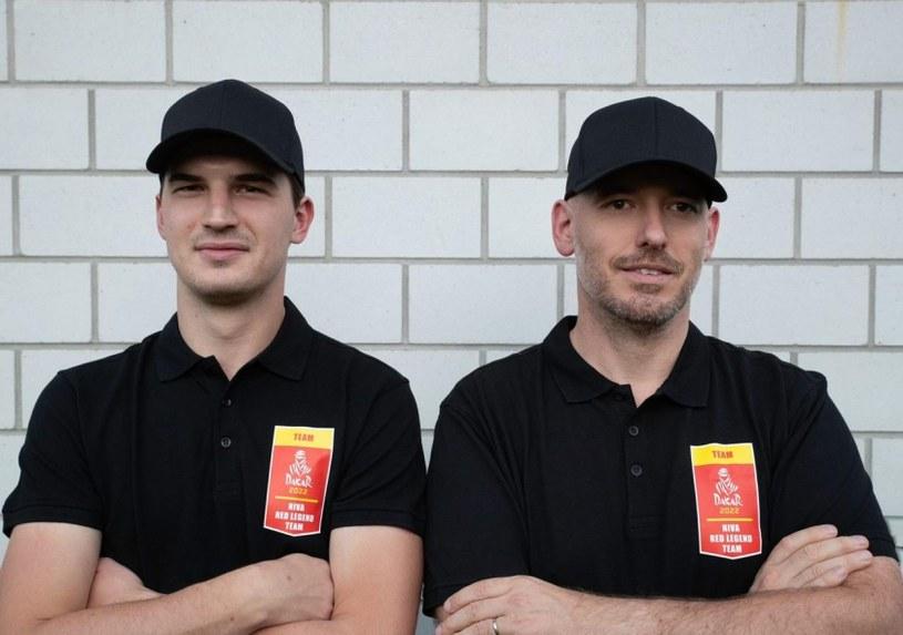Mario Jacober i Sladjan Miljic. NIVA RED LEGEND TEAM /