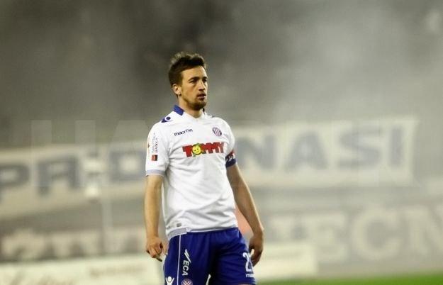 Mario Malocza w Hajduku / Hajduk.hr /
