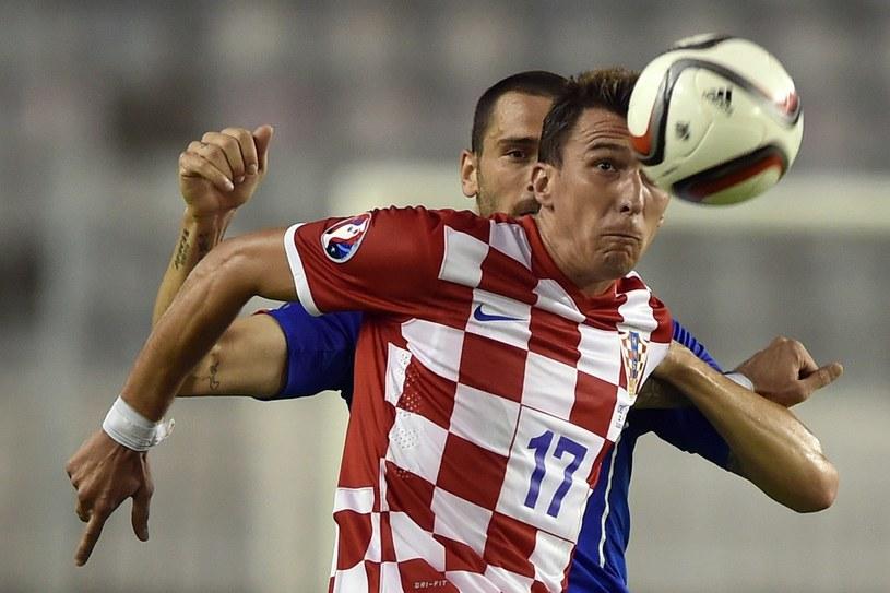 Mario Mandżukić jedną nogą jest już w Turynie /ANDREJ ISAKOVIC /AFP