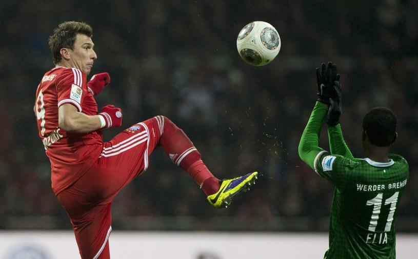 Mario Mandżukić, napastnik Bayernu Monachium /AFP