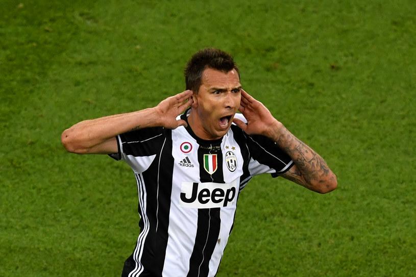 Mario Mandżukić, napastnik Juventusu /AFP