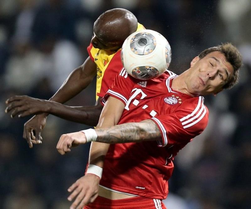 Mario Mandżukić stracił motywację do gry w Bayernie? /AFP