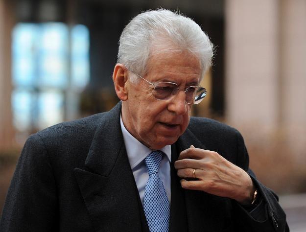 Mario Monti ma dzisiaj złożyć dymisję z funkcji premiera Włoch /AFP