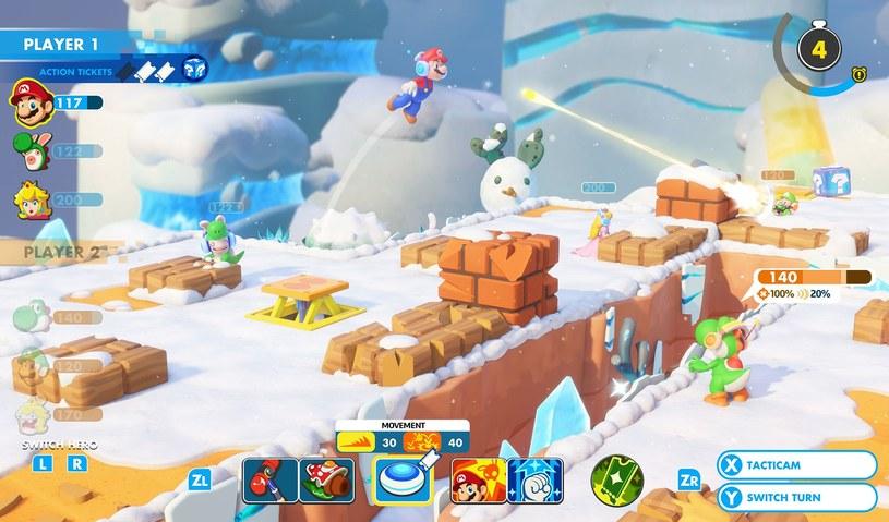 Mario + Rabbids Kingdom Battle /materiały prasowe