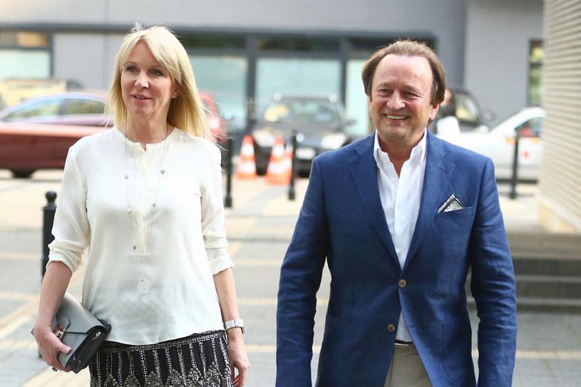 Mariola Bojarska-Ferenc z mężem Ryszardem /KAROL SEREWIS /East News