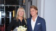 Mariola Bojarska-Ferenc z synem