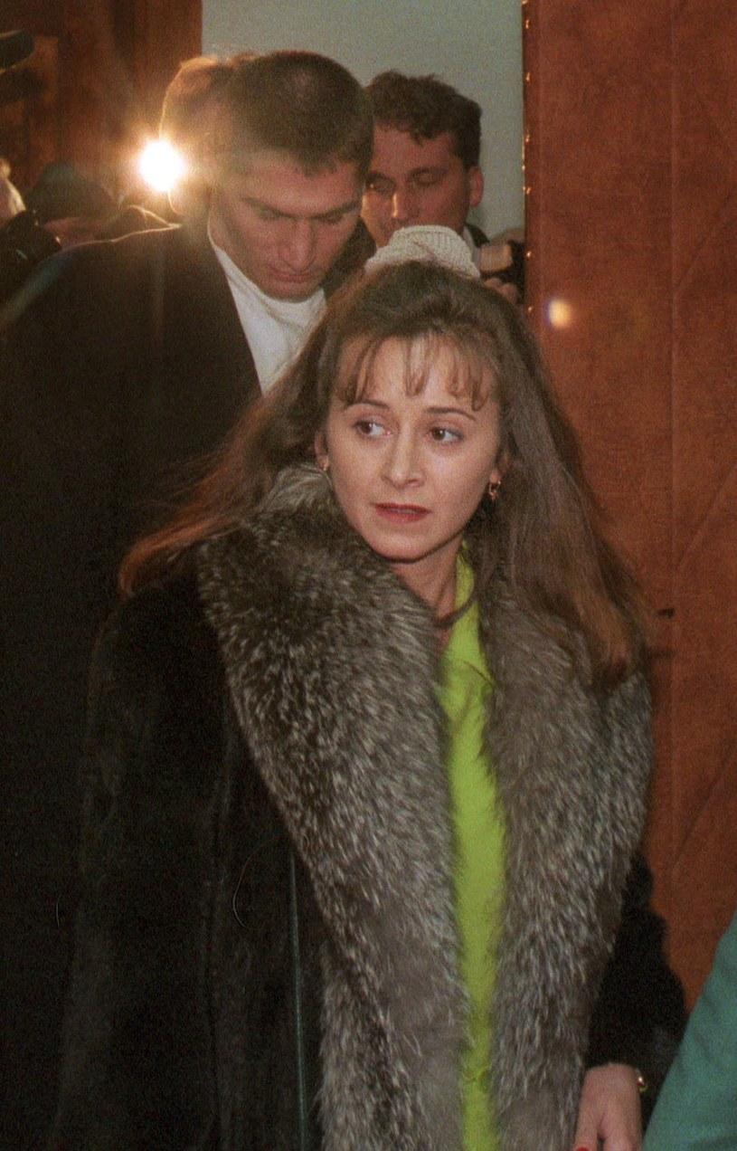 Mariola Gołota i Andrzej Gołota, 1995 rok /Dominski/REPORTER /East News