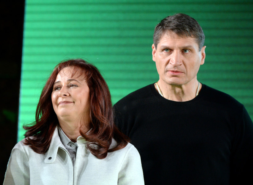 Mariola i Andrzej Gołota /Jan Bielecki/East News /East News