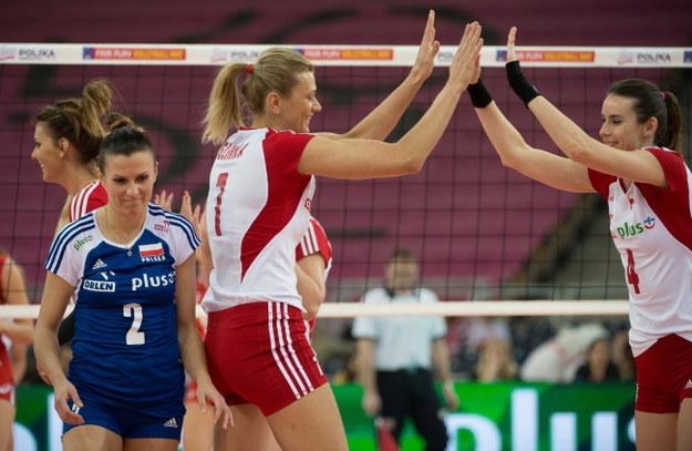 Mariola Zenik, Małgorzata Glinka-Mogentale i Izabela Bełcik /PAP/Grzegorz Michałowski /PAP