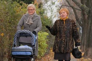 Mariolka zawsze może liczyć na pomoc przyjaciółki, Anny Surmacz (Joanna Żółkowska) /  /Agencja W. Impact
