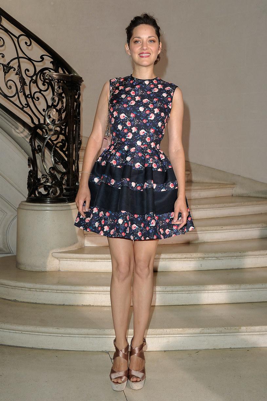 Marion Cotillard w sukience Diora /Getty Images