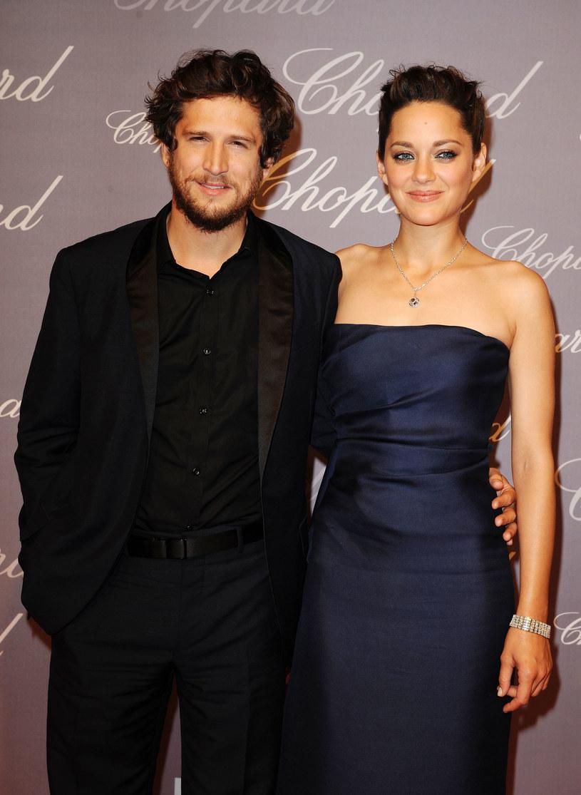 Marion Cotillard z mężem /Pascal Le Segretain /Getty Images