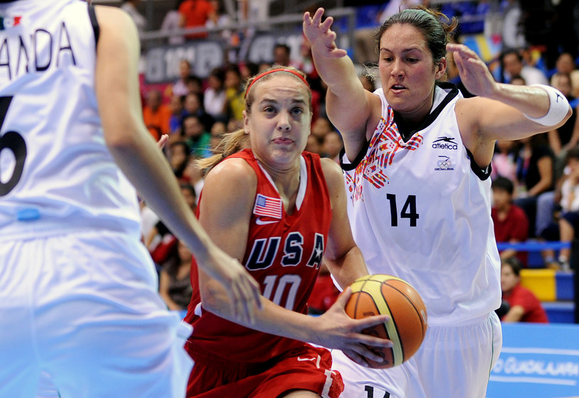 Marissa Kastanek w barwach reprezentacji USA na igrzyskach panamerykańskich w 2011 roku /AFP