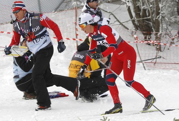 Marit Bjoergen dopingowana przez jednego z trenerów /AFP