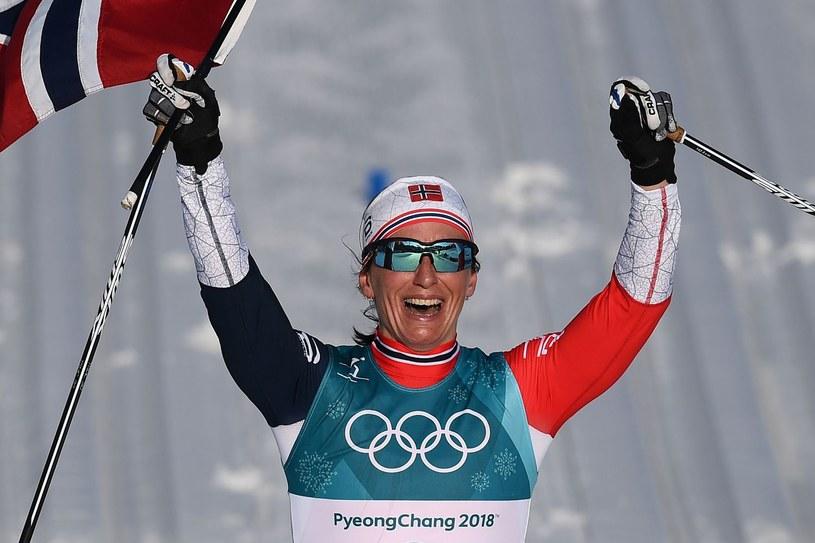 Marit Bjoergen na igrzyskach w Pjongczangu /AFP