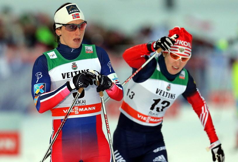 Marit Bjoergen triumfowała w sprincie w Kuusamo /AFP