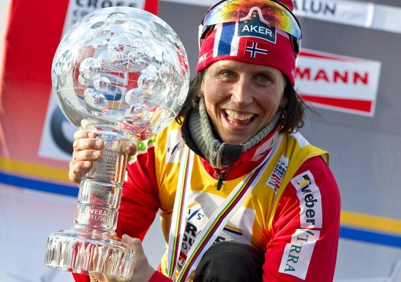 Marit Bjoergen w nadchodzącym sezonie odpuści walkę o Puchar Świata /AFP