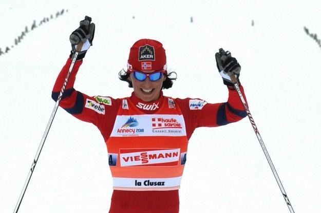 Marit Bjoergen żałuje, że nie wystąpiła w tegorocznym Tour de Ski /AFP