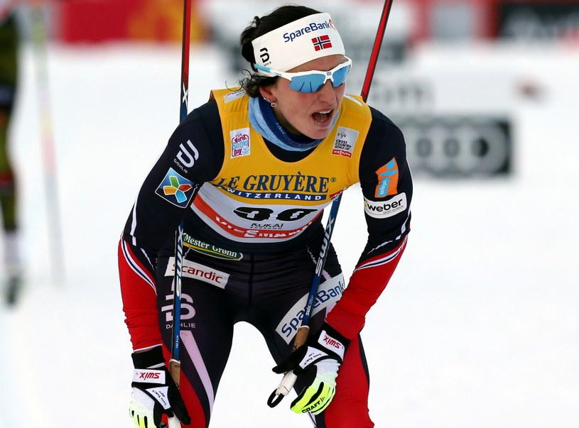 Marit Bjoergen /fot. Grzegorz Momot /PAP