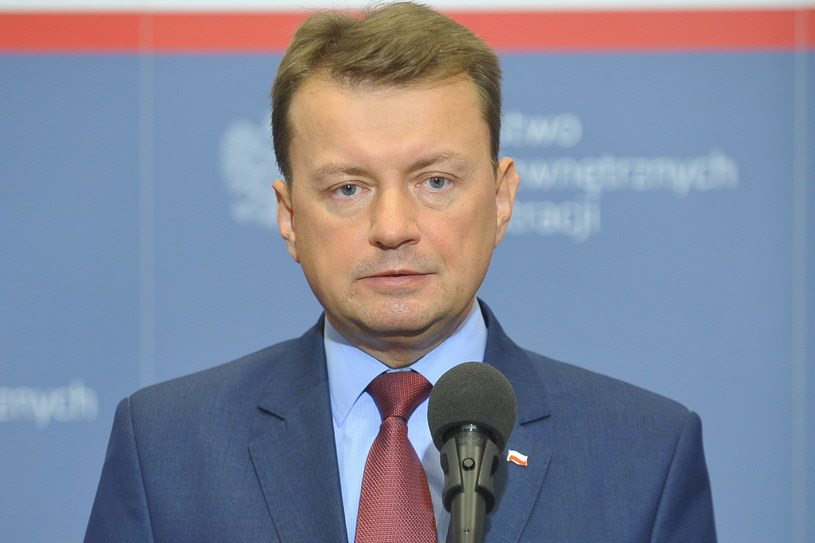 """Mariusz Błaszczak: """"Bezpieczeństwo narodowe pozostaje w zakresie wyłącznej odpowiedzialności każdego państwa członkowskiego"""" /Marcin Obara /PAP"""