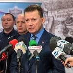 Mariusz Błaszczak w hołdzie zabitemu policjantowi