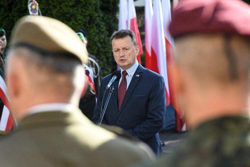 Mariusz Błaszczak w Krakowie /Jacek Bednarczyk   /PAP