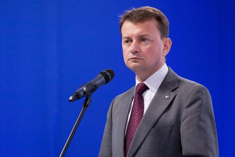 Mariusz Błaszczak /Krystian Maj /Reporter