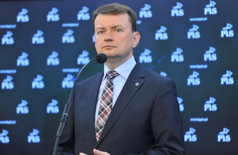 Mariusz Błaszczak /Bartłomiej Zborowski /PAP