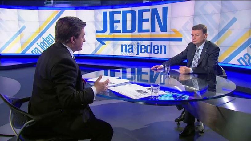 Mariusz Błaszczak /TVN24/x-news