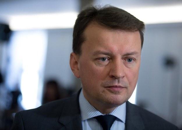 Mariusz Błaszczak /Andrzej Iwańczuk/Reporter /East News