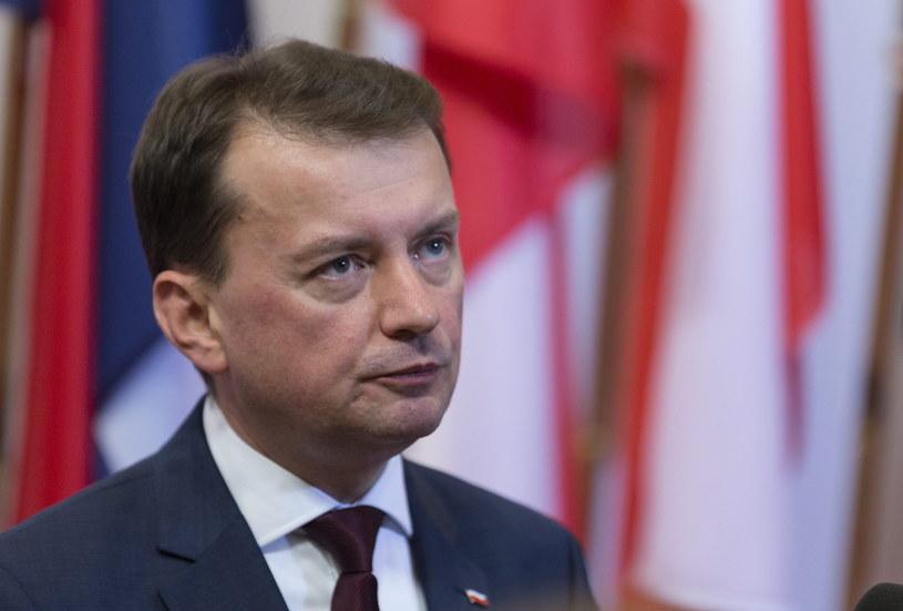 Mariusz Błaszczak /PAP/EPA