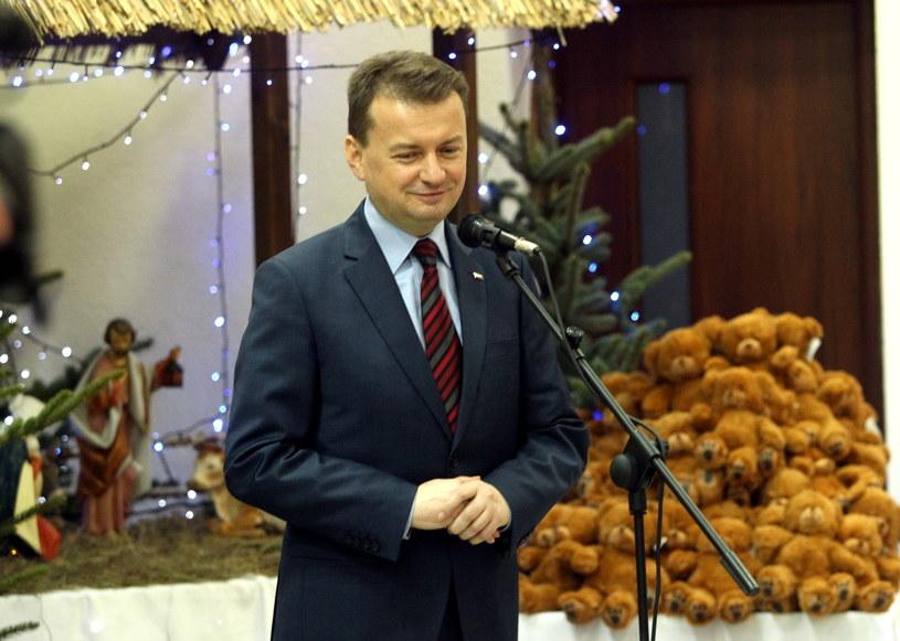 Mariusz Błaszczak /Tomasz Waszczuk /PAP