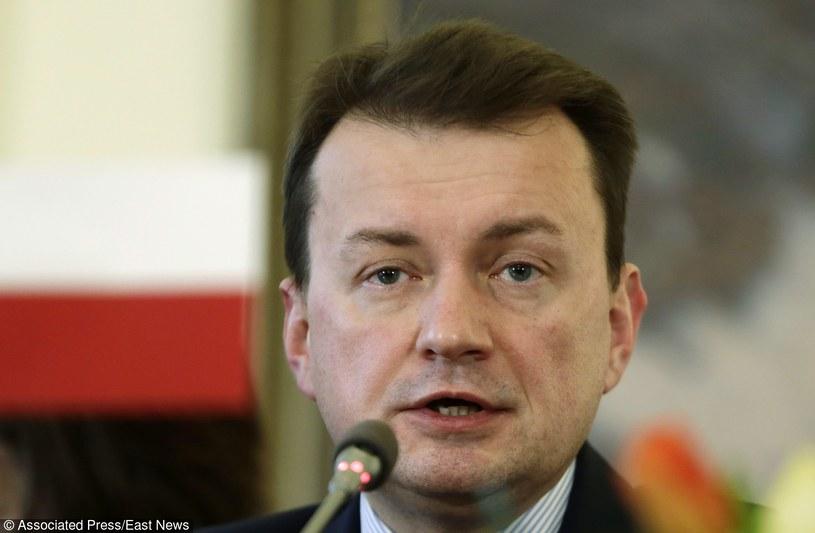 Mariusz Błaszczak /AP