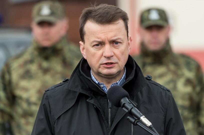 Mariusz Błaszczak /Maciej Kulczyński /PAP