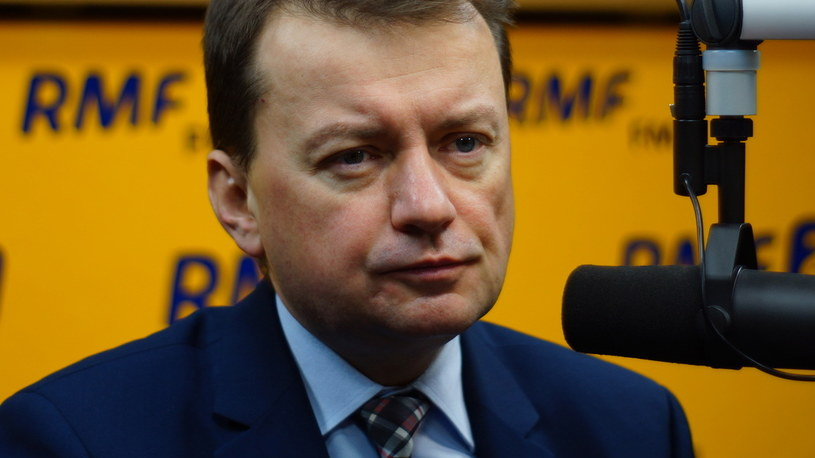 Mariusz Błaszczak /Michał Dukaczewski /RMF FM