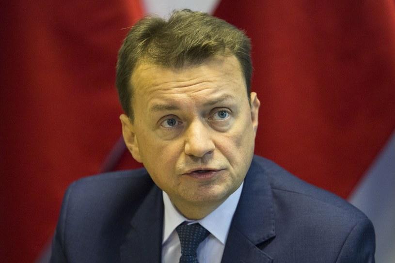 Mariusz Błaszczak /Andrzej Hulimka  /East News