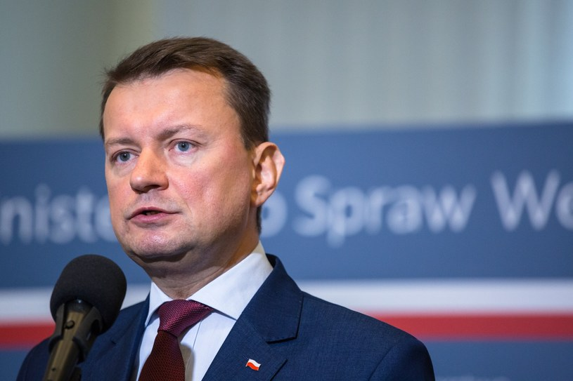 Mariusz Błaszczak /Michał Wende /Reporter
