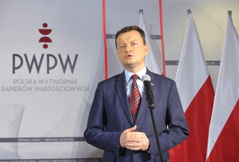 Mariusz Błaszczak /Marcin Obara /PAP