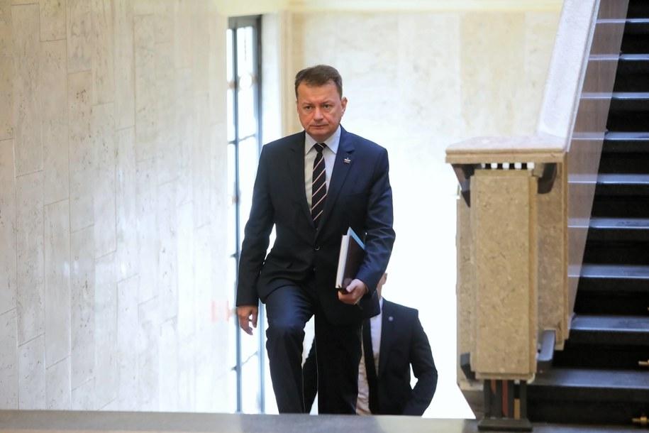 Mariusz Błaszczak / Leszek Szymański    /PAP