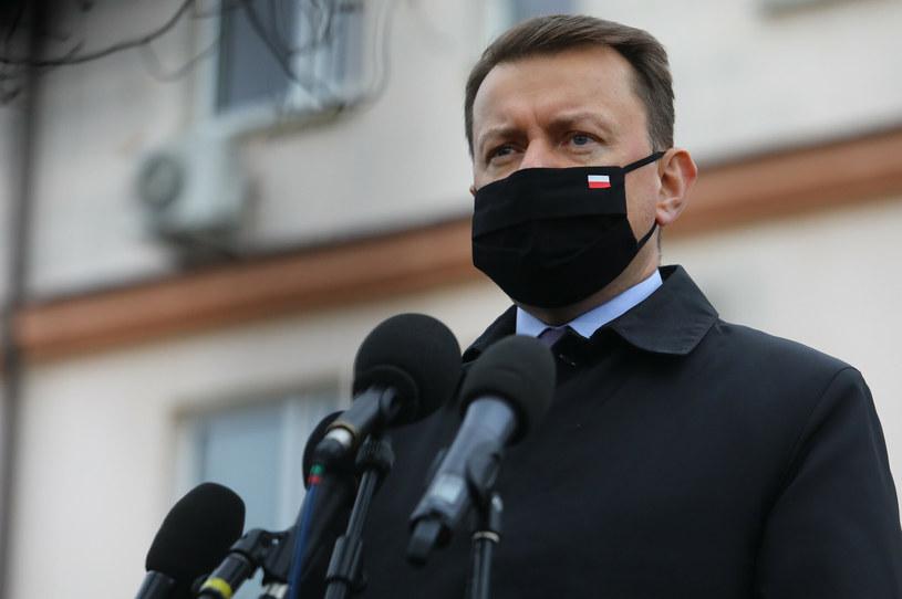 Mariusz Błaszczak /Tomasz Jastrzebowski/REPORTER /Reporter