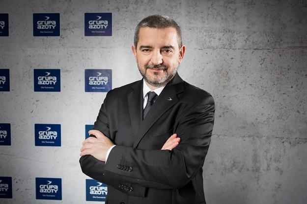 Mariusz Bober, b. prezes Grupy Azoty /Informacja prasowa