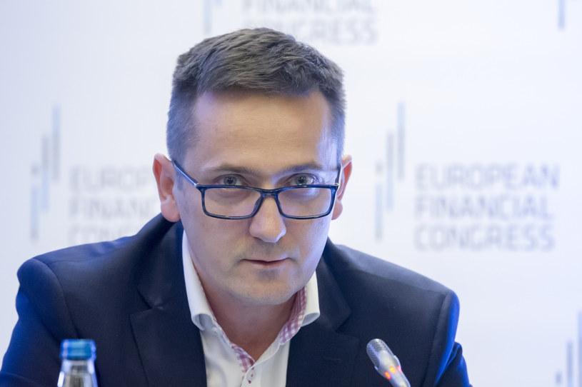 Mariusz Cholewa, prezes BIK /Wojciech Stróżyk /Reporter