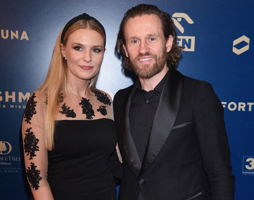 Mariusz Czerkawski i jego żona Emilia Raszyńska - lekarka-dietetyczka /East News