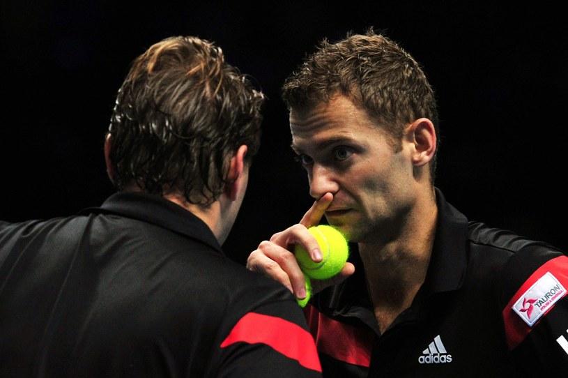 Mariusz Fyrstenberg (z prawej) /AFP