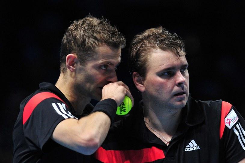 Mariusz Fystenberg i Marcin Matkowski /AFP