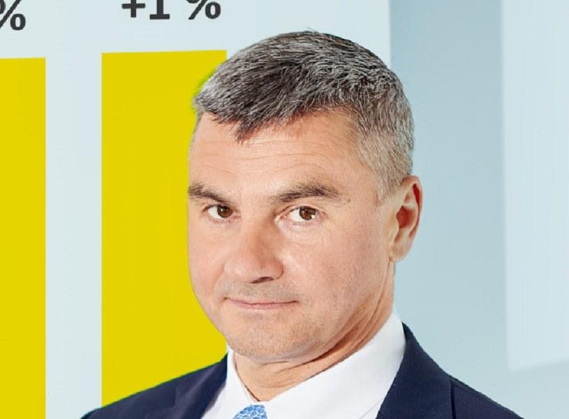 Mariusz Gazda, członek zarządu Forte /PAP
