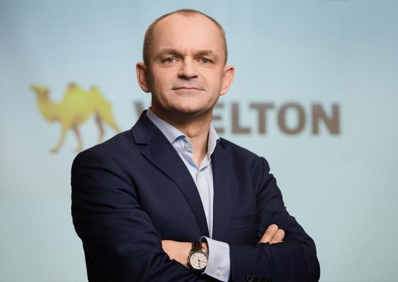 Mariusz Golec, prezes Wieltonu /Informacja prasowa