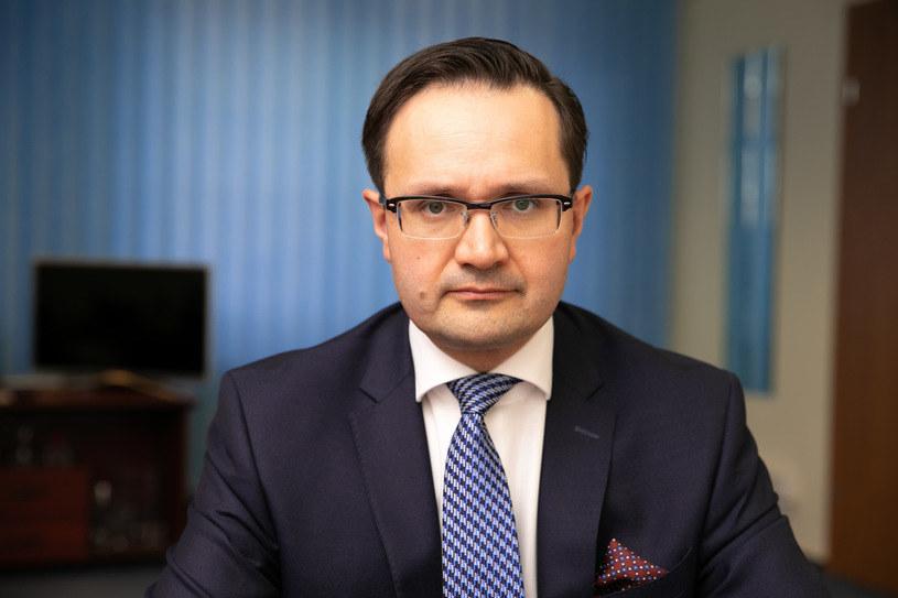 Mariusz Golecki, Rzecznik Finansowy /Robert Gardziński  /Agencja FORUM